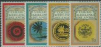 CKI SG280-3 Early Cocos (Keeling) Islands Currency set of 4